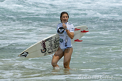Coco Ho - Roxy Pro 2011 Editorial Stock Photo