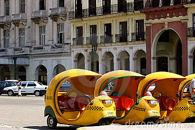 Coco Taxis In Cuba