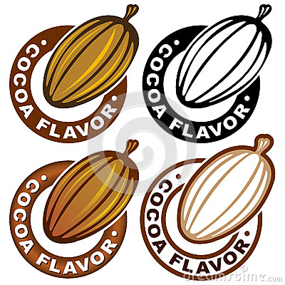 Cocoa Flavor Seal / Mark
