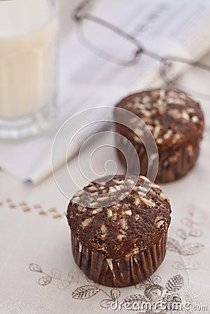 Cocoa muffins