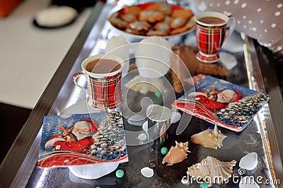 Cocoa for Santa Claus
