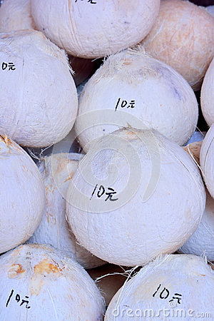 Coconut with price on sale