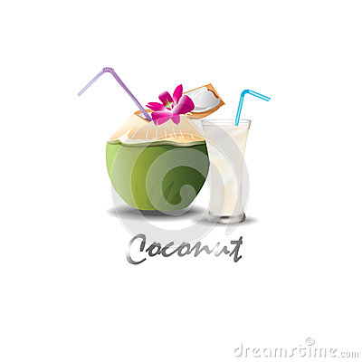 Free Coconut Drink Sweet Stock Images - 88012144