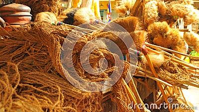 Coconut fiber handcrafts (Asia)