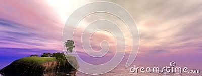 Coconut Island Panorama