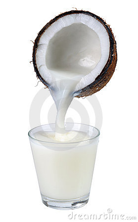 Free Coconut Milk Royalty Free Stock Photography - 18842557
