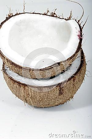 Free Coconut Shells Royalty Free Stock Photo - 1536145