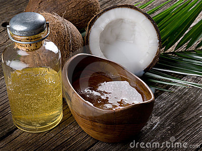 coconut walnut oil