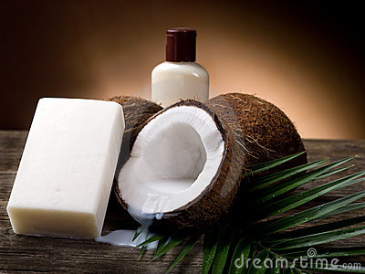 Coconut walnut soap