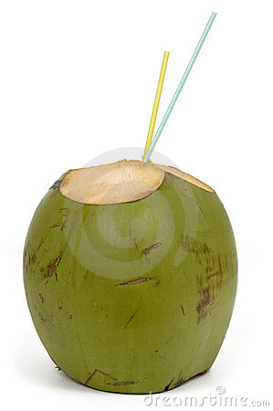 Free Coconut Water Drink Royalty Free Stock Photos - 1459028