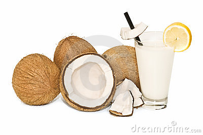 Coconuts and coconut milk