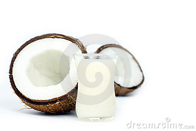 Coconuts and milk
