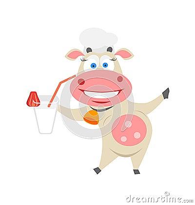 Coctail cow