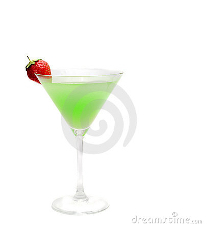 Coctail isolated
