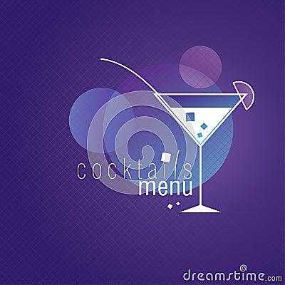 Coctails menu.