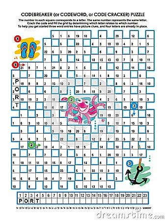 Codebreaker word puzzle