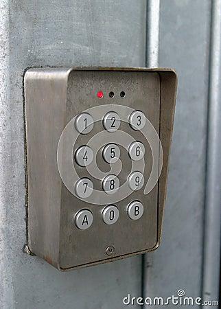 Coded Lock Control