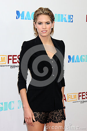Cody Horn arrives at the  Editorial Stock Photo