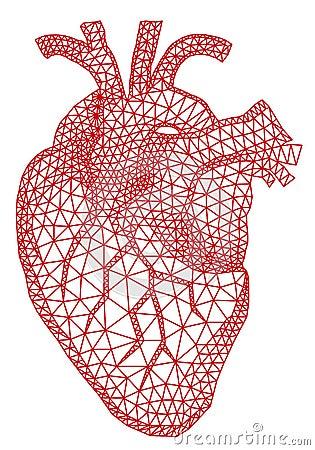 Coeur avec le mod le g om trique vecteur photos libres de - Coeur avec des photos ...