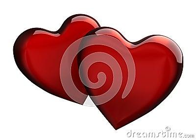 Coeurs deux