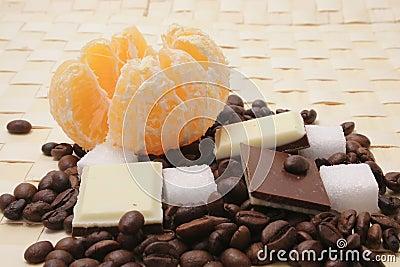 Cofee with chocolade