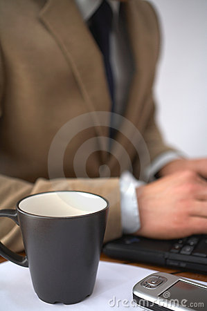 Coffe and computer