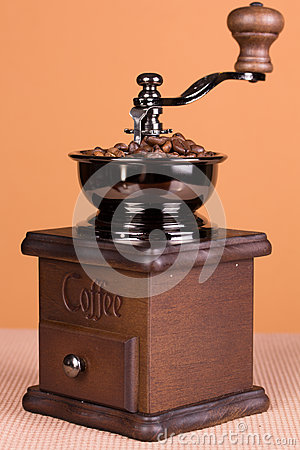 Free Coffe Grinder Stock Photography - 41691752