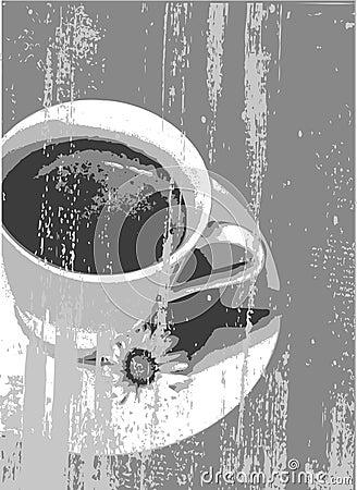 Coffe grunge