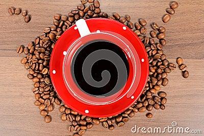 Coffee above