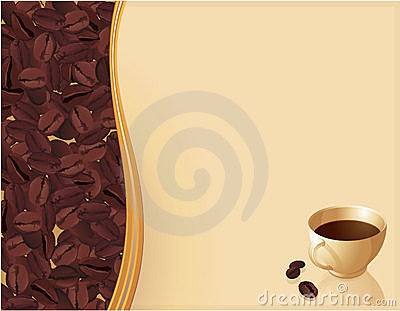 Coffee abstract