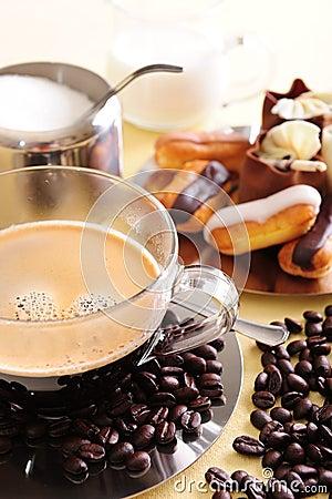 Free Coffee And Cake Stock Photo - 5262840