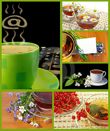 Free Coffee And Tea Cups Collection Royalty Free Stock Photos - 7491368
