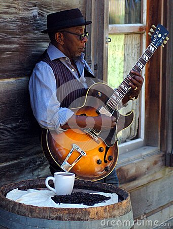 Free Coffee And The Blues Royalty Free Stock Photo - 45052705