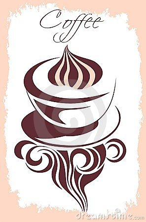 Coffee background for your promotion.