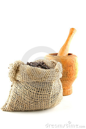 Free Coffee Bag Full Of Beans Royalty Free Stock Images - 10532539