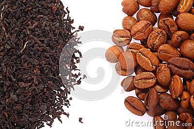Coffee Bean and Black Tea