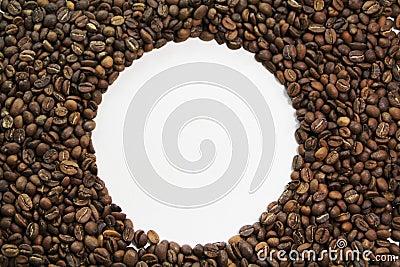 Coffee bean circle