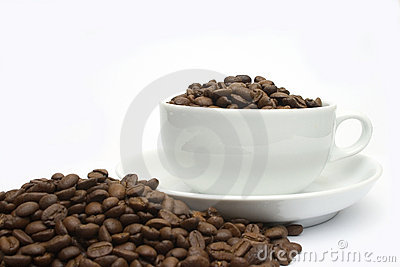 Coffee bean cup 2