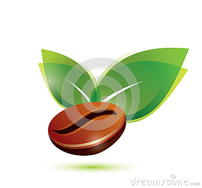 Free Coffee Bean Natural, Icon Stock Photo - 32987810