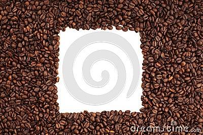 Coffee bean square