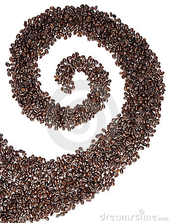 Coffee Bean Swirl