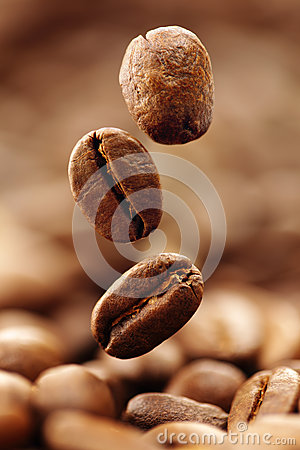 Free Coffee Beans Royalty Free Stock Photos - 33918738