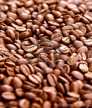 Coffee beans addiction
