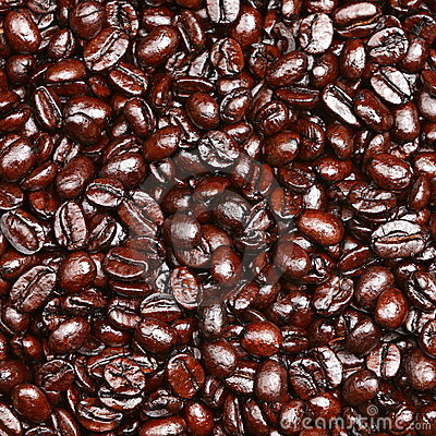 Free Coffee Beans Background Stock Photography - 23749672