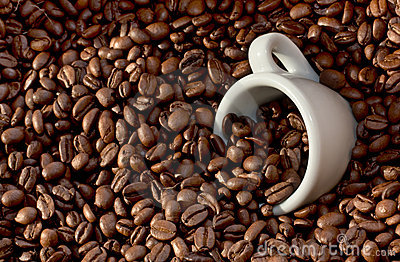 Coffee Beans and Cup (4)