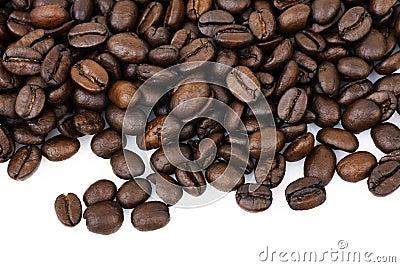 Coffee beans macro