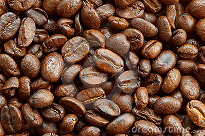 Coffee beans texture 2