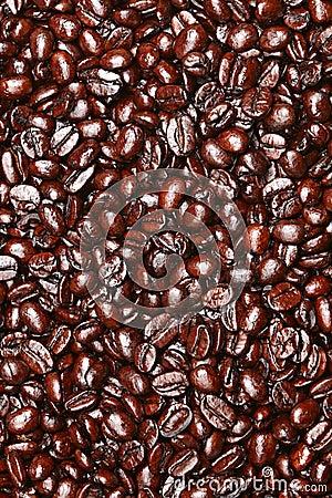 Free Coffee Beans Texture Stock Photo - 23604250