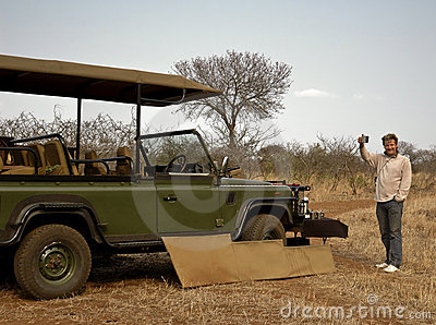 Coffee break on Safari