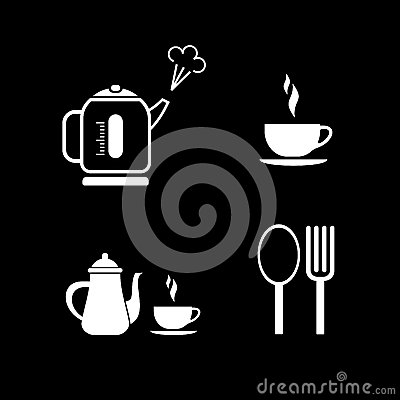 Coffee break - vector icons